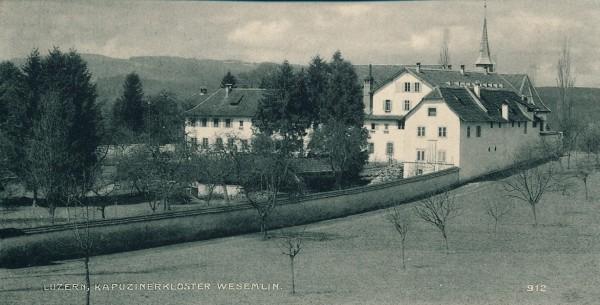 Kloster Wesemlin 1889